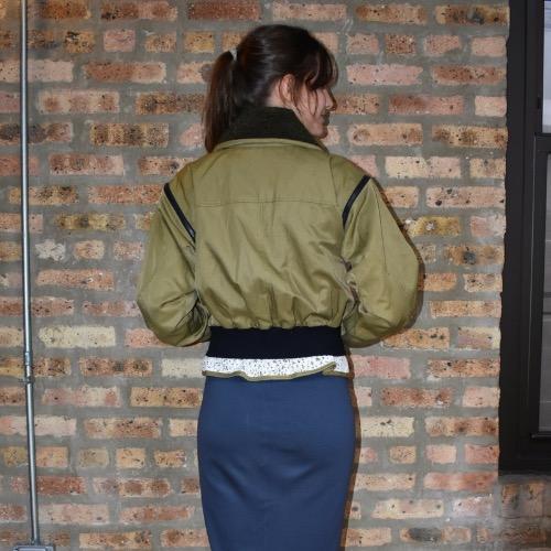 Marissa Webb Madelyn Bomber Jacket Back