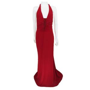 DesignerShare Jovani Beaded Halter Gown - Front