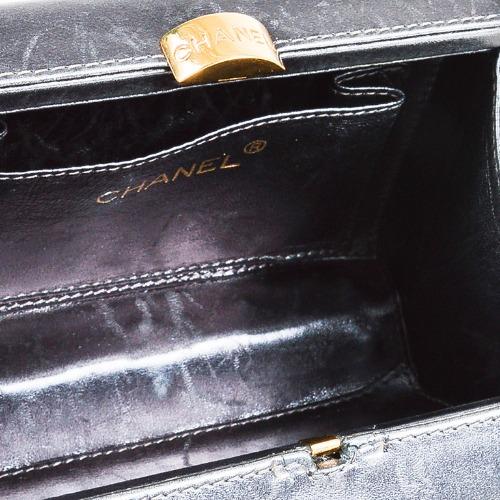 Chanel Metallic Silver Box Bag 6