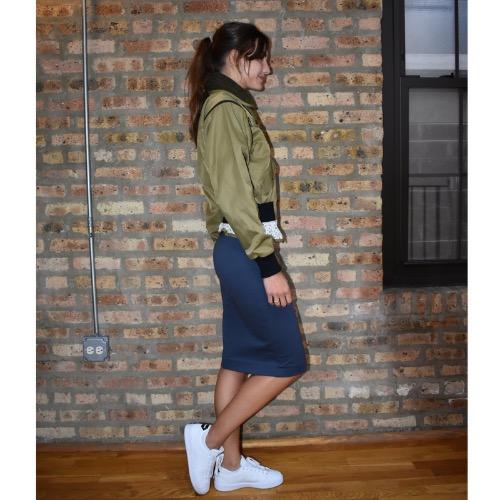 Marissa Webb Madelyn Bomber Jacket Side