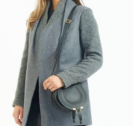 DesignerShare Chloé Mini Marcie Leather Crossbody Bag - Model
