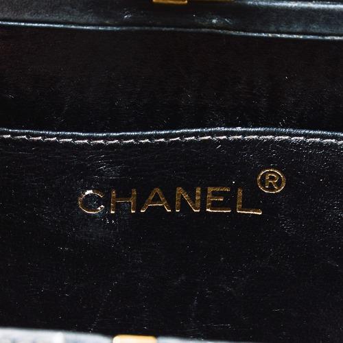 Chanel Metallic Silver Box Bag 7