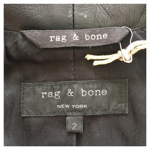 Rag & Bone Tuxedo Jacket Tag
