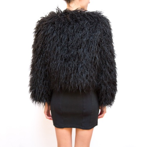 Reformation Brinsley Faux Fur Jacket 4