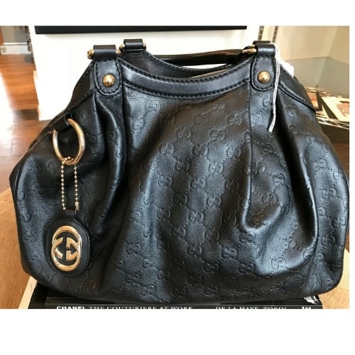 DesignerShare Gucci Sukey Medium Tote Bag - Front