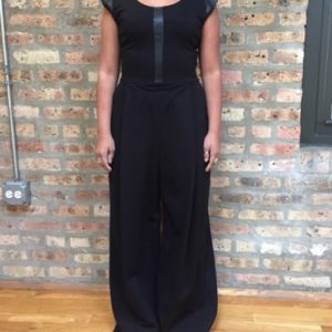 Borris Powell Capsleeve Jumpsuit