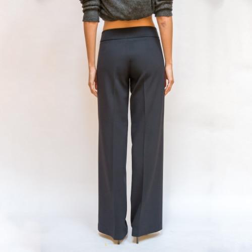 MaxMara Classic Bootcut Trousers Back