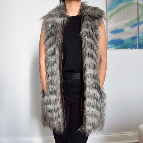 Rachel Zoe Marianne II Faux-Fur Vest