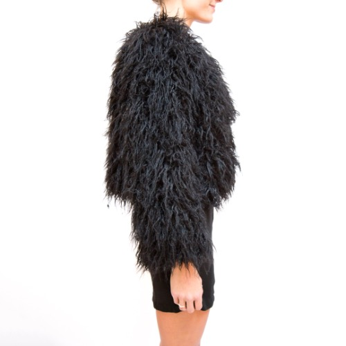 Reformation Brinsley Faux Fur Jacket 3