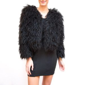 Reformation Brinsley Faux Fur Jacket