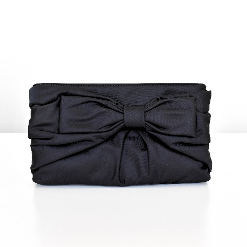 DesignerShare Kate Spade New York Nylon E.B. Bow Clutch - Front