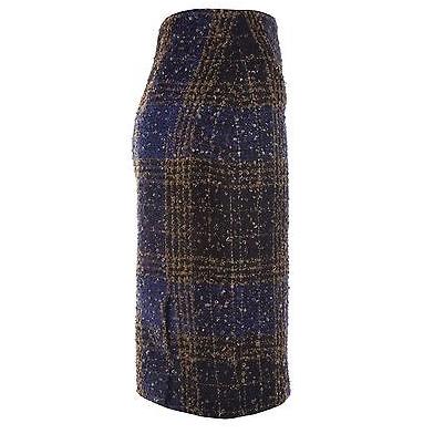 Vintage Carolina Herrera Plaid Skirt 2
