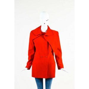 Vintage Gianni Versace Red Wool Jacket