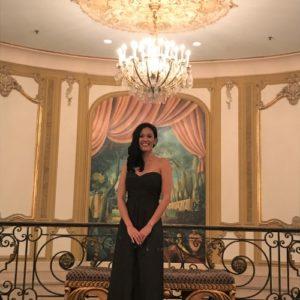 Amsale Lace Gown