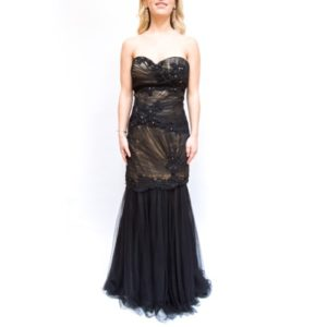 Alyce Paris Strapless Evening Gown