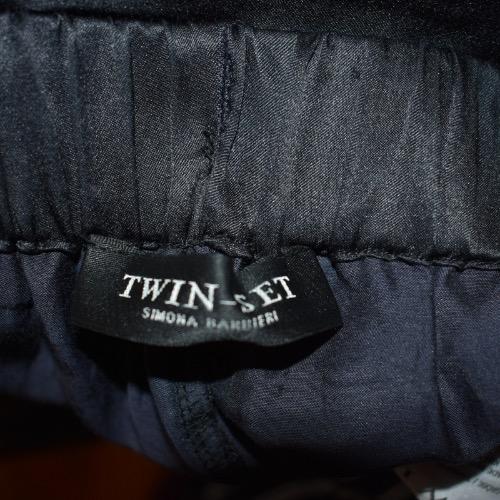 White and Black Twin-Set by Simona Barbieri Tag