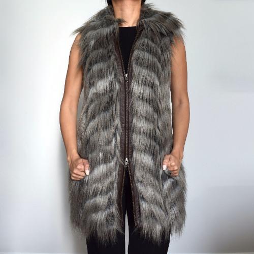 Rachel Zoe Marianne II Faux-Fur Vest Front