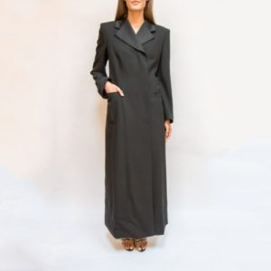 Emporio Armani Floor Length Trench Coat