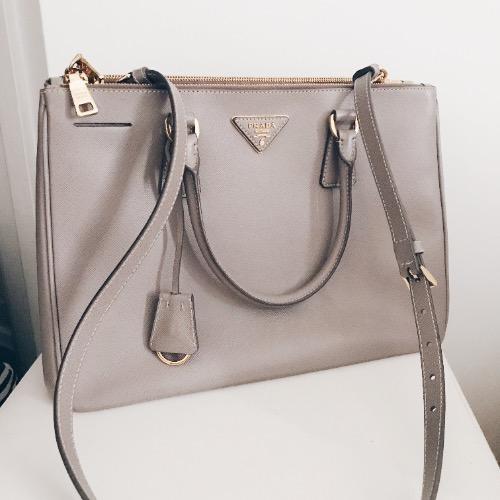 DesignerShare Prada Galleria Medium Saffiano Leather Tote - Side