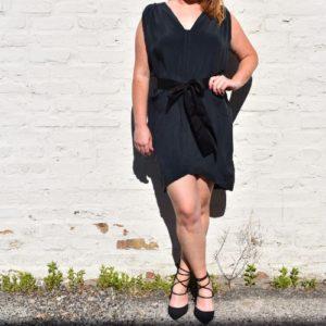 Laurel Shift Dress With Belt