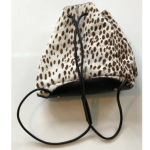 DesignerShare Elizabeth and James Pony Hair Cynnie Sling Backpack - Back