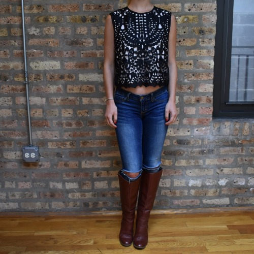 Ted Baker Falisia Lace Top 2