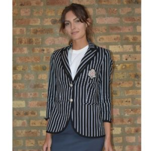 Veronica Beard Spirit Striped Blazer
