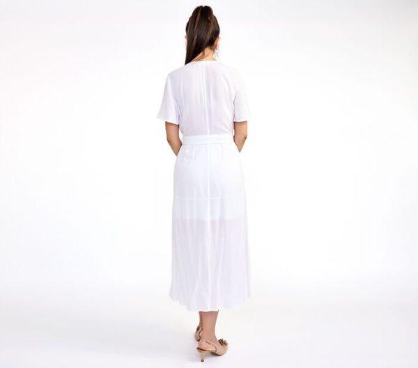 DsignerShare A.L.C. Asa Midi Wrap Dress - Back