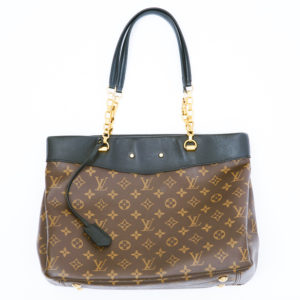 DesignerShare Louis Vuitton Monogram Canvas Pallas Shopper Bag - Front