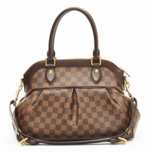 DesignerShare Louis Vuitton Damier Canvas Trevi PM Bag - Front