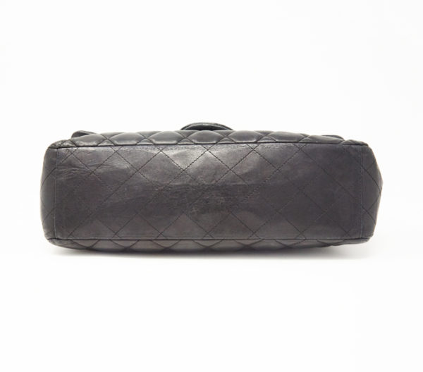 Chanel Lambskin Quilted Classic Single Maxi Flap Bag 5