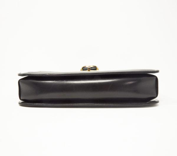 Vintage Gucci Black Leather Crossbody 3
