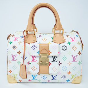 Louis Vuitton Monogram Multicolored Speedy 30 Bag