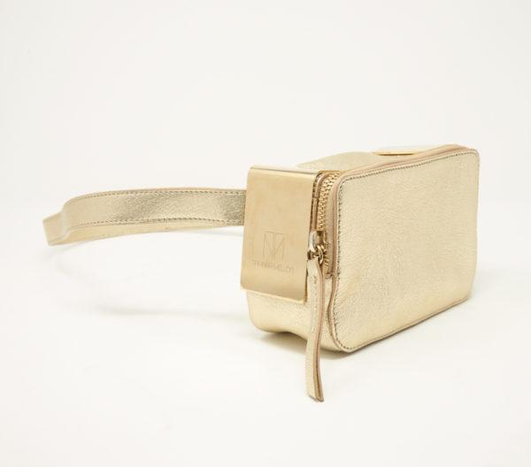 Tamara Mellon Metallic Playboy Belt Bag