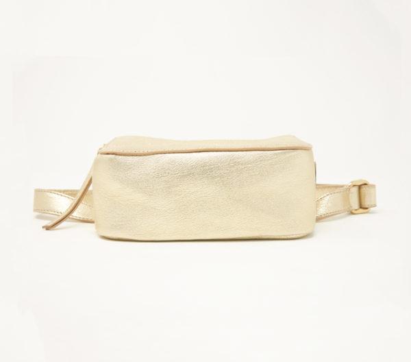 Tamara Mellon Metallic Playboy Belt Bag 4