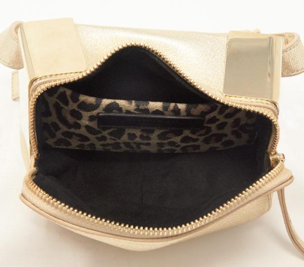 Tamara Mellon Metallic Playboy Belt Bag 5