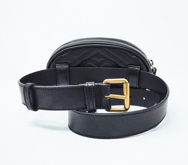 GG Marmont Matelassé Leather Belt Bag 4