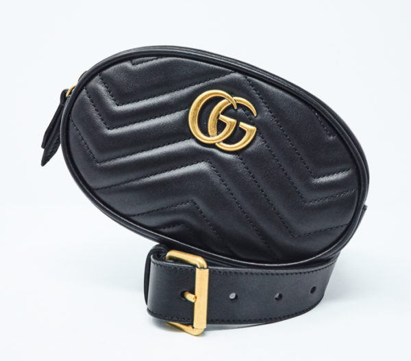 GG Marmont Matelassé Leather Belt Bag 2