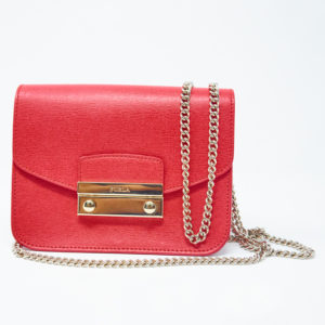 Furla Mini Julia Chain Crossbody Bag