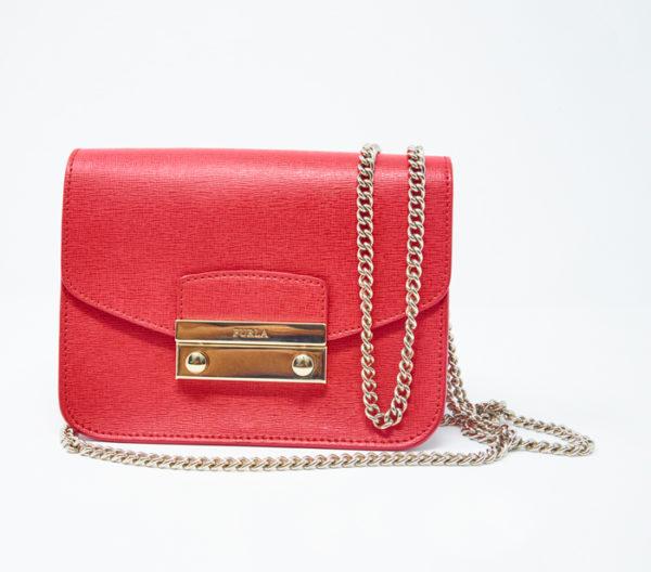 Furla Mini Julia Chain Crossbody Bag