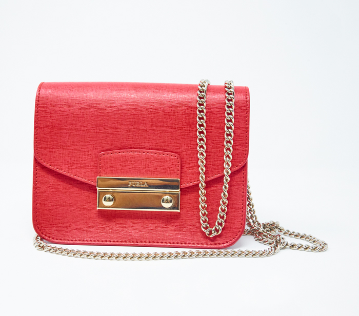996b12e8c3a6 Furla Mini Julia Chain Crossbody Bag – DesignerShare
