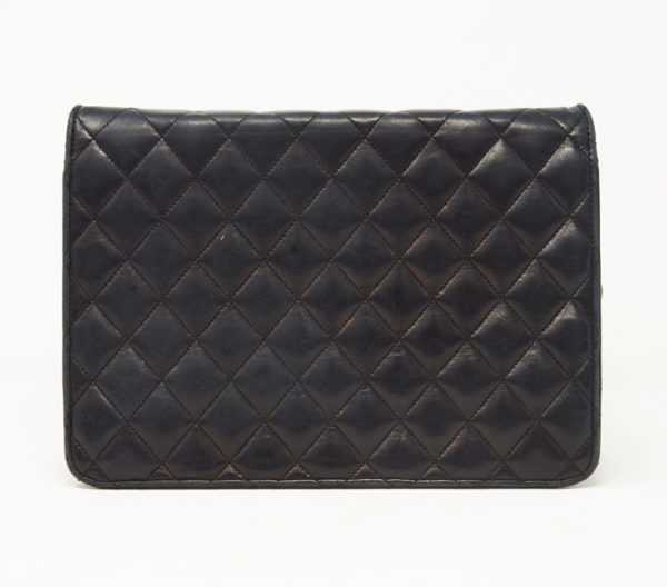 Chanel Caviar Quilted Mini Square Flap Bag Black 4