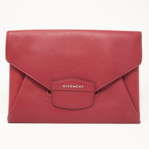 Givenchy Red Antigona Clutch