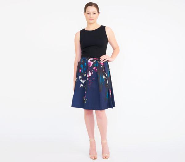 Ted Baker Women's Quirina Floral Flared Skirt 2