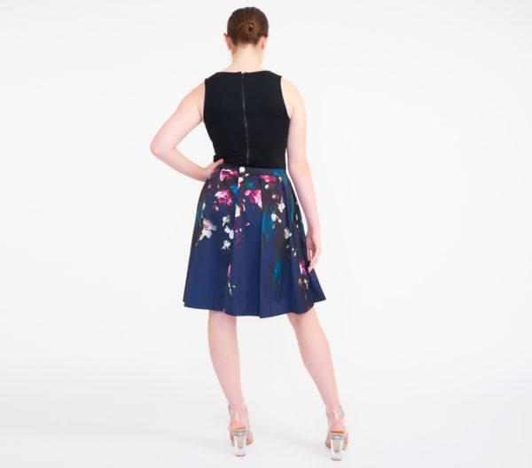 Ted Baker Women's Quirina Floral Flared Skirt 4