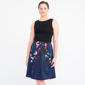 Ted Baker Women's Quirina Floral Flared Skirt