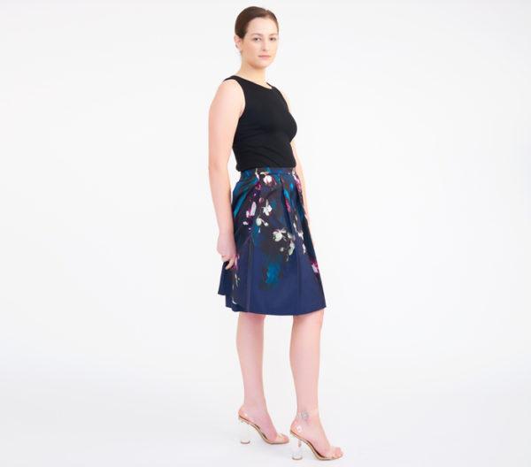 Ted Baker Women's Quirina Floral Flared Skirt 3