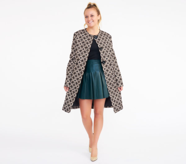 Max Studio Mosaic Jacquard Jacket 2
