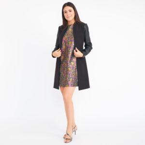 BCBG Max Azria Arelia A-Line Coat
