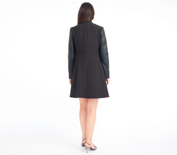 BCBG Max Azria Arelia A-Line Coat 4
